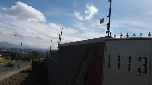 cerca eléctricas y alambre de navaja total security