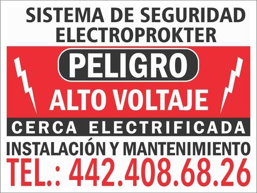 cerca electrificada