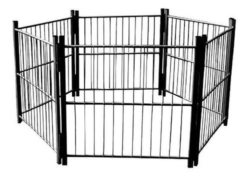 cercado casinha cachorro pet filhotes cão 6/80cm com portão