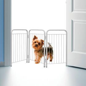 Cercado Pet Delimitador De Espaço Portátil P/ Cachorros Novo