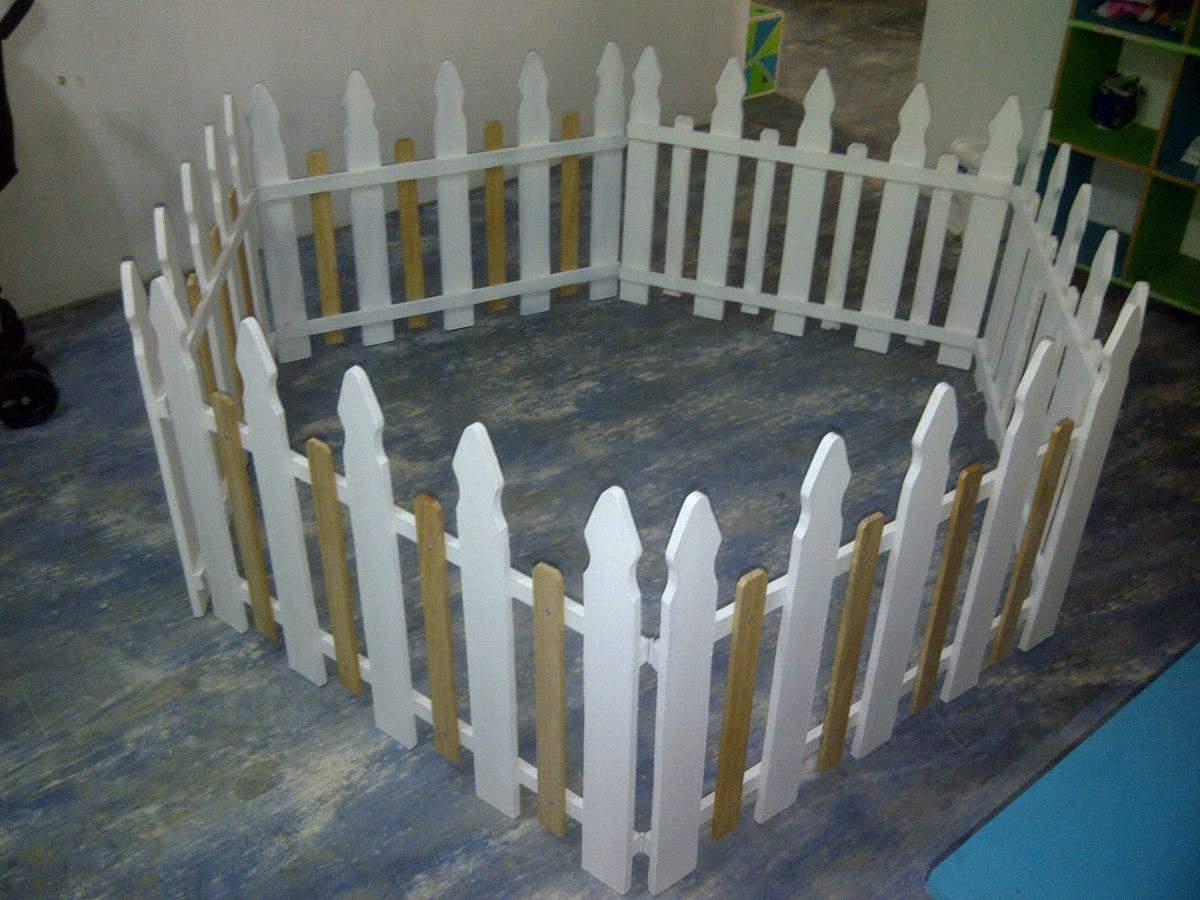 Cercas De Madera Para Jardines Patios Y Areas Infantiles