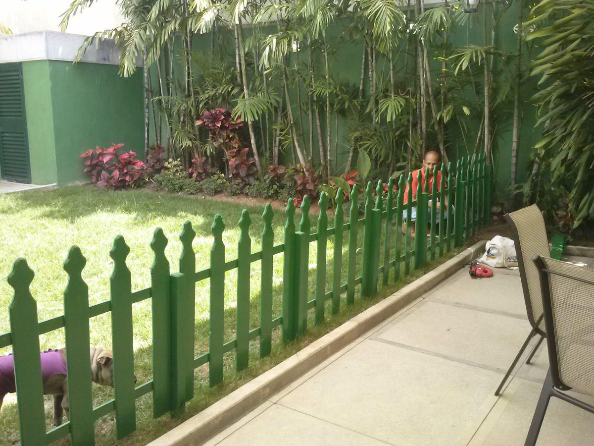 Cercas de madera para jardines patios y areas infantiles - Cercas para jardines ...