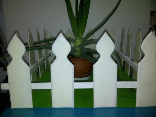 cercas de madera para jardines y patios