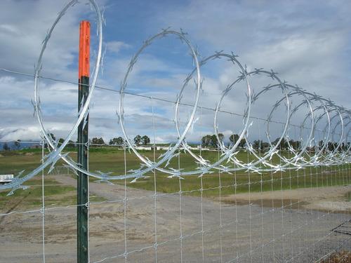 cercas de malla ciclón, herrería, reja, estructuras.