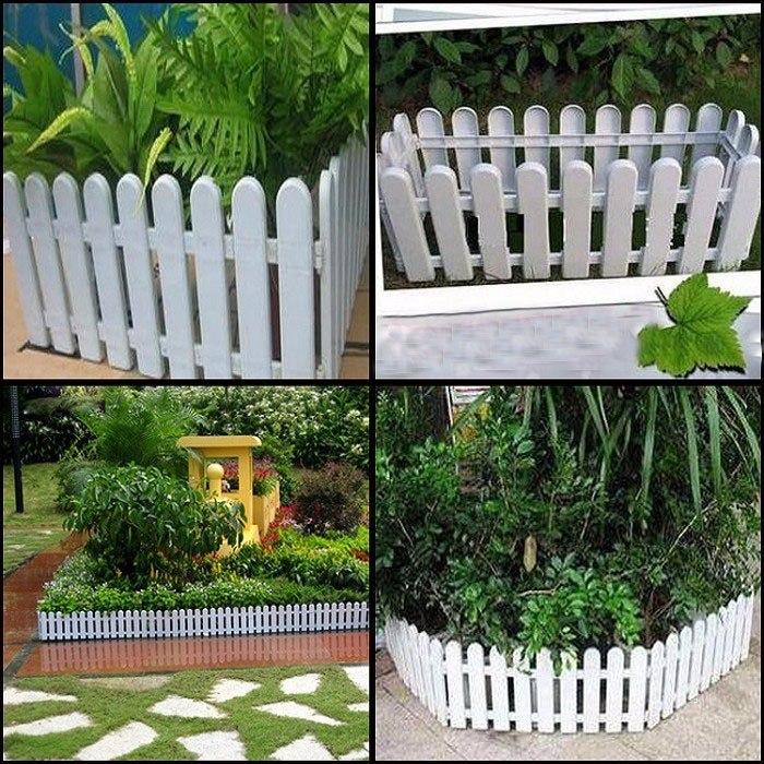 cercas decorativas para jardines resistente aire libre