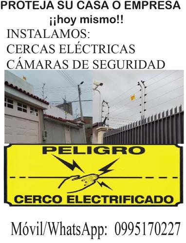 cercas eléctricas con materiales de calidad