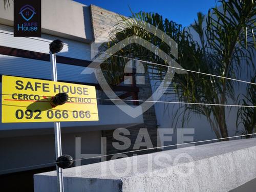 cercas electricas perimetral - seguridad hogar