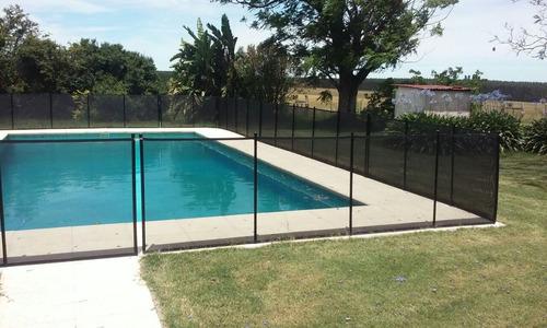 cercas protección  piscinas.seguridad para niños redpro