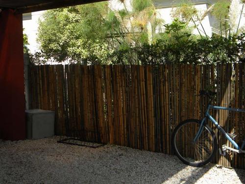 cerco de caña tacuara - precio x m2 - pergolas caña bambu