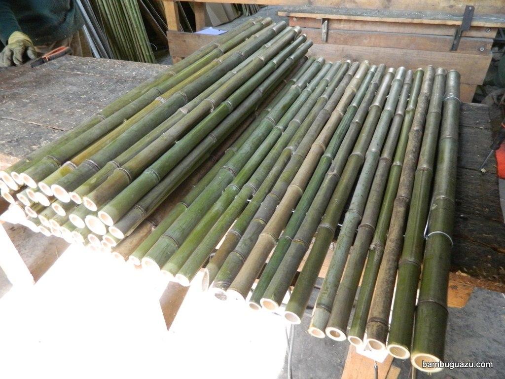 Jardineras con bambu simple muebles de bamb with - Jardineras con bambu ...