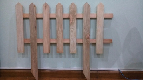 cerco de madera eucaliptus para jardin, porton, empalizada