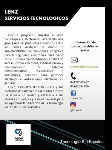 cerco elctrico (servicios tecnologicos lenz)