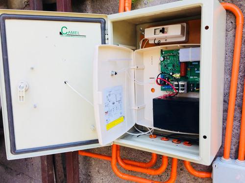 cerco eléctrico, camaras de seguridad y sistemas de segurid
