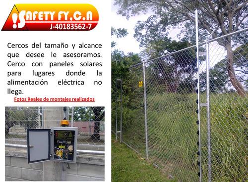 cerco eléctrico, concertina, cctv instalación/mantenimiento