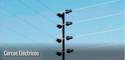 cerco eléctrico, concertinas, cctv, alarmas.