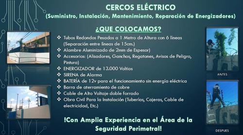 cerco eléctrico, concertinas, portones eléctricos, alarmas