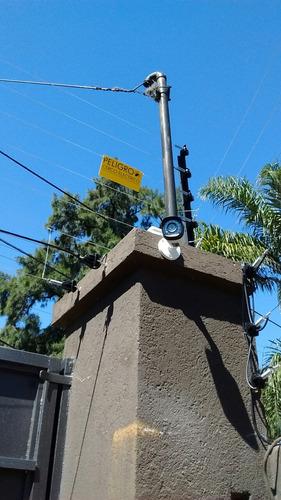 cerco eléctrico de 6 hilos para 10metros instalado