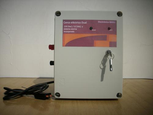 cerco eléctrico dual