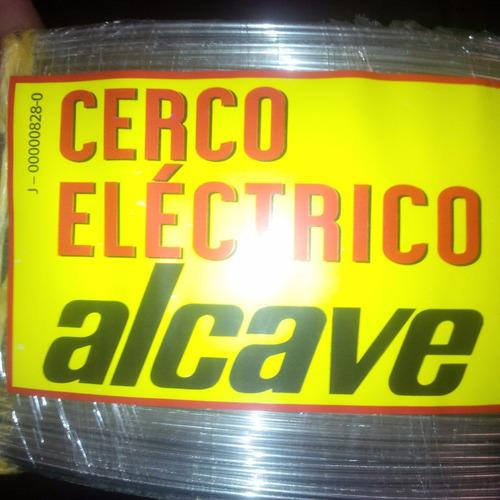 cerco electrico en aluminio 2mm x 2.000 metros (rollo)