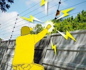cerco electrico  herreria y electricidad machihembrado