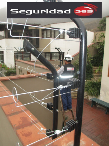 cerco eléctrico mantenimiento x metro lineal