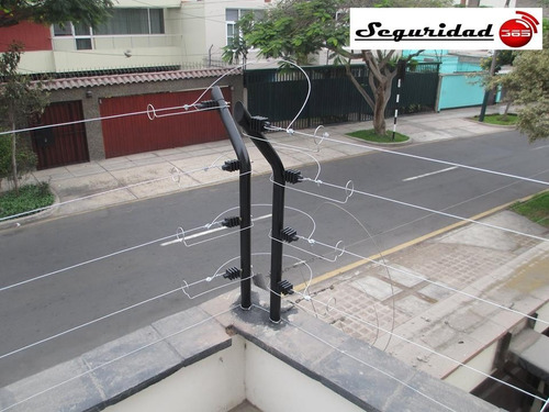 cerco eléctrico metro lineal s/. 30 instalado