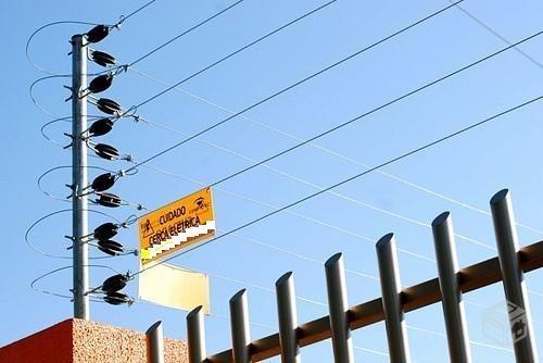 cerco electrico perimetral 10 metros instalado