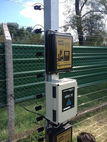 cerco eléctrico  - protección de grandes perimetros -