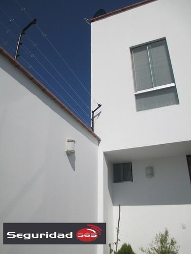 cerco eléctrico residencial.
