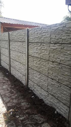 cerco, muro, medianera premoldeado