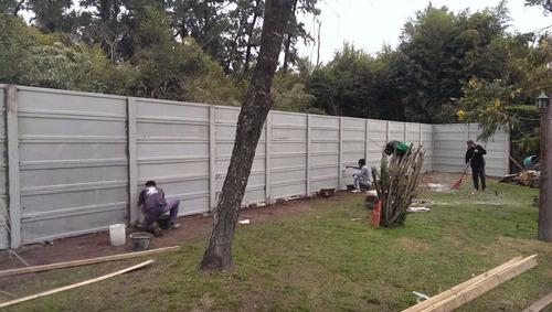cerco muro  medianera premoldeado chau ladrillo hueco !!!!!!