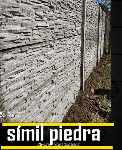 cerco, muro , pared hormigón premoldeado