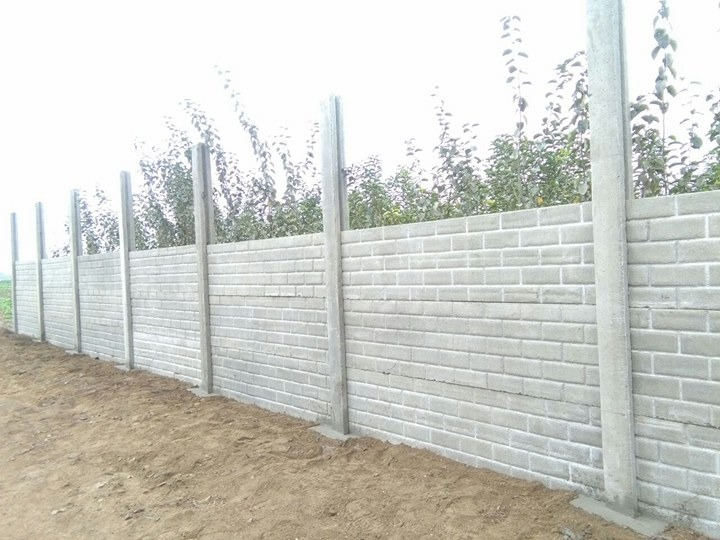 Cerco perimetrico prefabricado s 90 00 en mercado libre for Precio del mercado de concreto encerado
