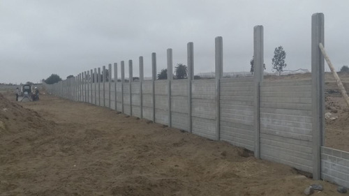 cerco prefabricado de concreto