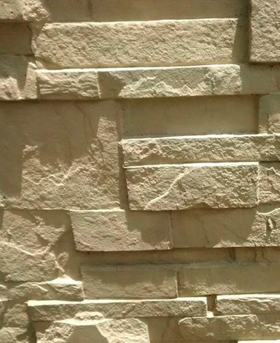 cerco reforzado perimetral simil piedra (no son los comunes)