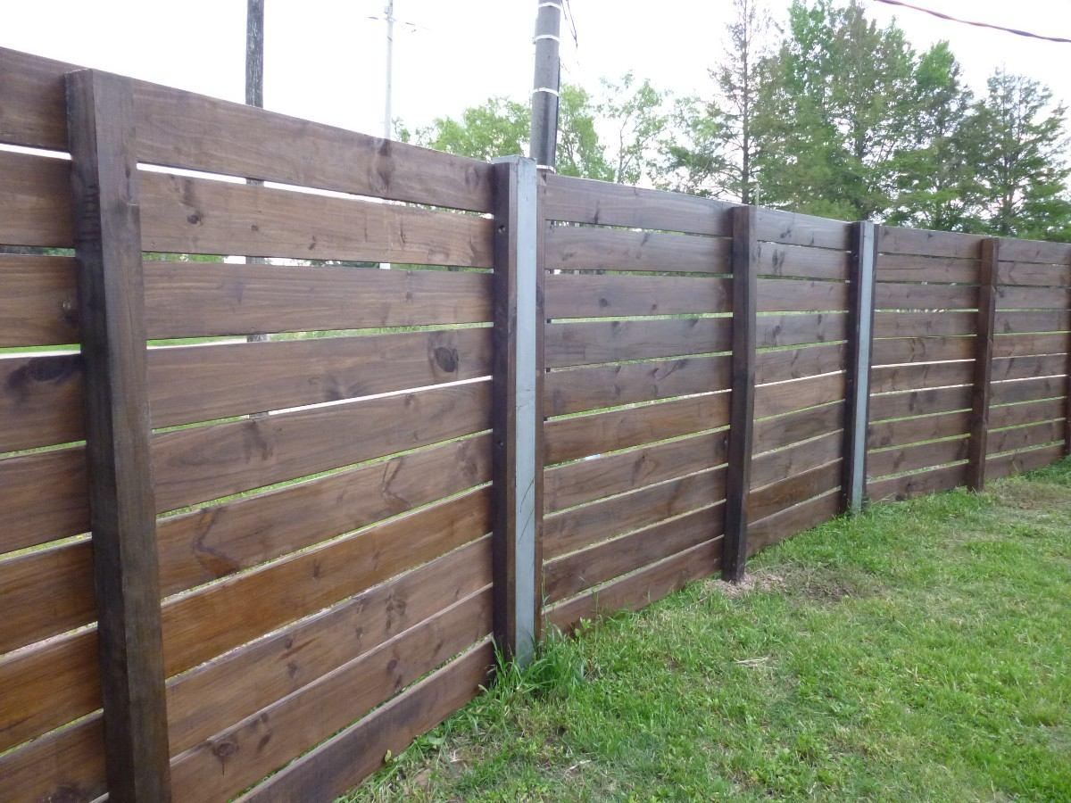 Cercos cercas piscinas jardin y divisorias en madera for Como hacer un porton de madera economico