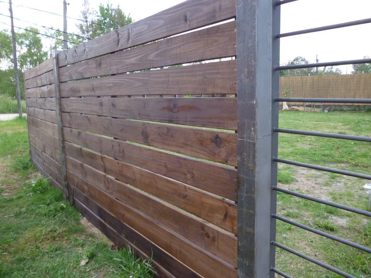 Cercos cercas piscinas jardin y divisorias en madera for Madera para jardin