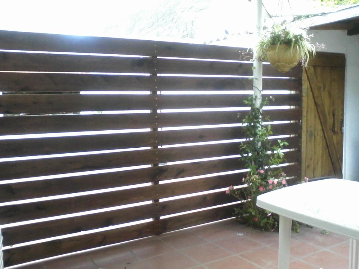 Cercos cercas piscinas jardin y divisorias en madera - Rejas para jardin ...