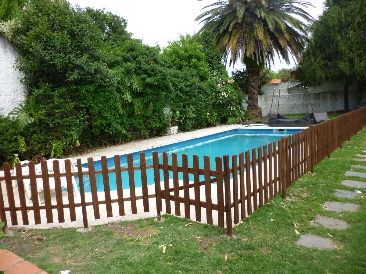 Cercos cercas piscinas madera tratada garantida en mercado libre - Vallas de madera para piscinas ...