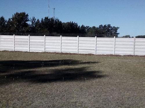 cercos de hormigon premoldeado , muros, tapiales, paredes