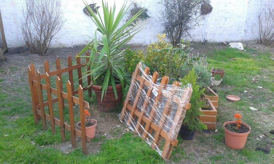 cercos de madera multiuso jardin y piscinas jardifert with cercas jardin