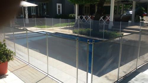 cercos de seguridad para piscinas