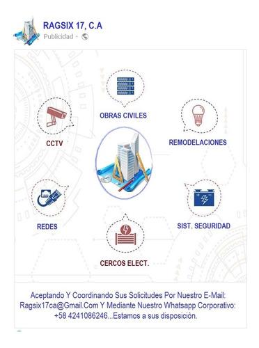 cercos eléctricos, cctv y sistemas de seguridad  electronic