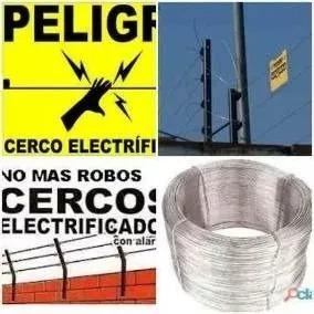cercos eléctricos, portones eléct instalación y mantenimieto