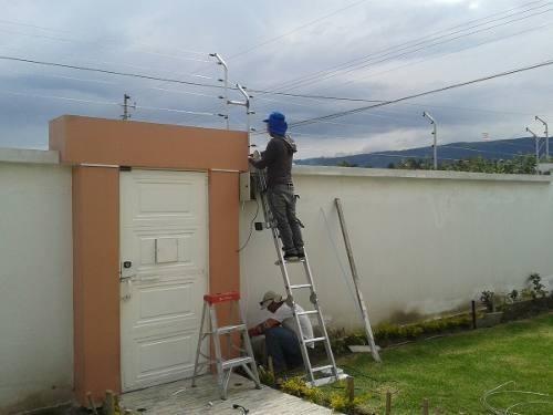 cercos eléctricos y camaras de seguridad