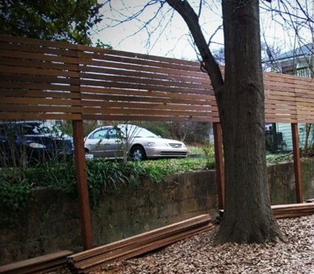 cercos en madera, maderas nobles que marcan la diferencia.