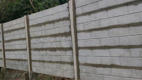 cercos, muros, tapiales ,paredes de hormigon premoldeados