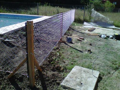 cercos o tranqueras con alambrados perimetrales