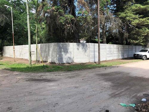 cercos perimetrales, cerramientos viviendas de hormigon