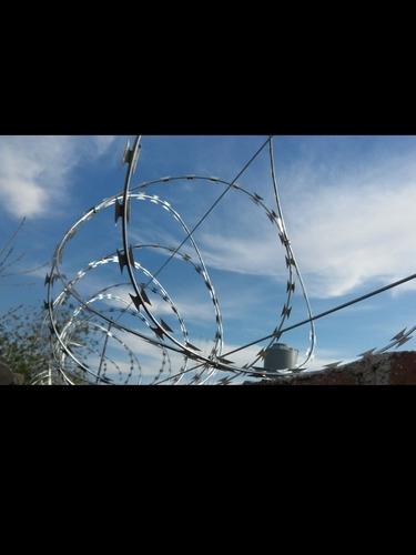 cercos perimetrales/alambrados/boyeros/concertina/cerramient